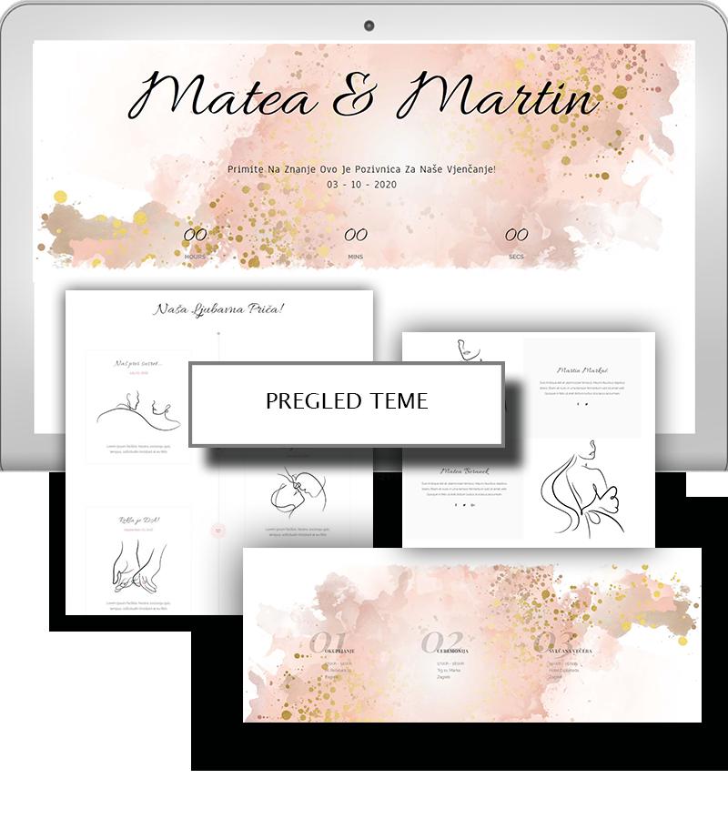 Prestige - pozivnice za vjenčanje
